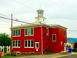 McVeytown, Pennsylvania - Image: Mc Veytown PA Borough Hall