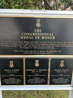 Frank Tolan United States Army Medal of Honor recipient
