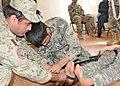 Medical course in Afghan National Police Center.jpg