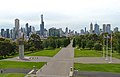 Melbourne city skyline in January 2015.jpg