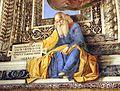 Melozzo da forlì, angeli coi simboli della passione e profeti, 1477 ca., profeta abdia 01.jpg