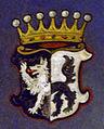 Memmingen Rathaus EG Sitzungssaal Friedrich von Lupin Wappen.jpg