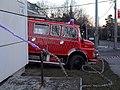 Mercedes-Benz 710 tűzoltóautó és fecskendő, 2018 Kurucles.jpg