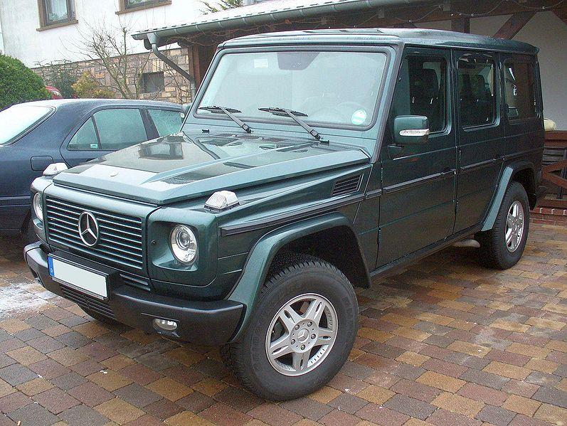 Mercedes G Part Listing Europa