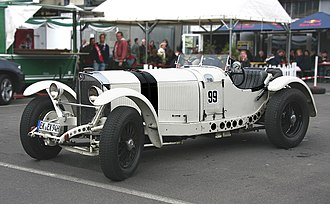 Mercedes-Benz S-Series - 1931 Model SSKL, note the perforations in the frame