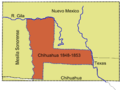 Mesilla Chih Outline MaxSize.png