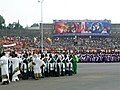 Meskel celebrations 2003, Meskel Square, Addis Ababa, before fire is lit.jpg