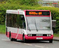 Metro (Belfast) bus, Optare Solo, 13 April 2011.jpg