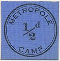 Metropole Internment Camp half-pence coin.jpg