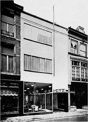Gerrit Rietveld - Image: Metz & Co. Den Haag 1