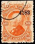 Mexico 1881 10c used Sc119 4184.jpg
