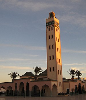 Islam in Western Sahara - A mosque in Dakhla