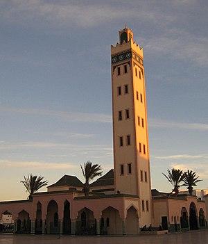 Mezquita en Dajla (Sahara Occidental)