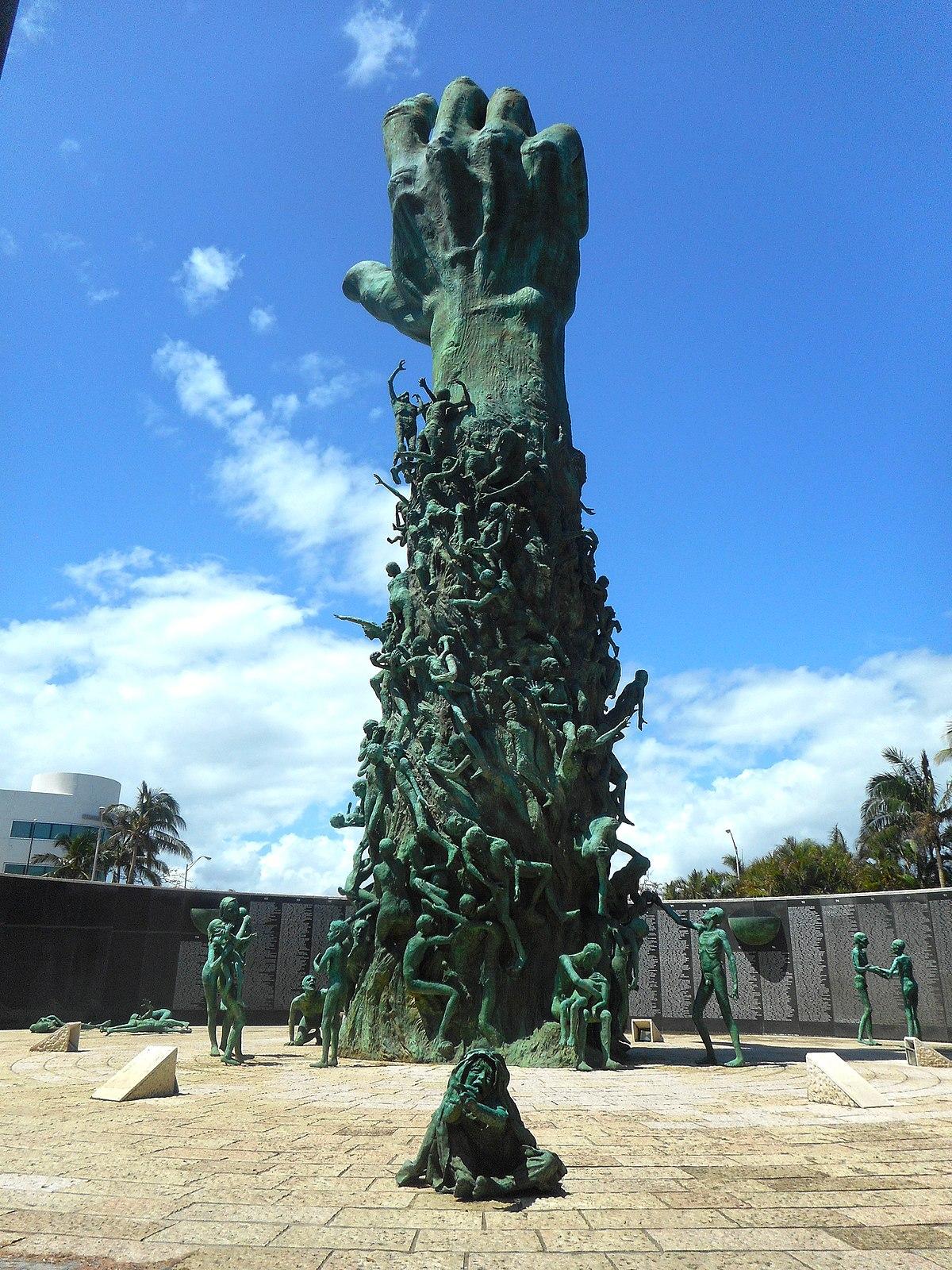 Holocaust Memorial Is On Miami Beach