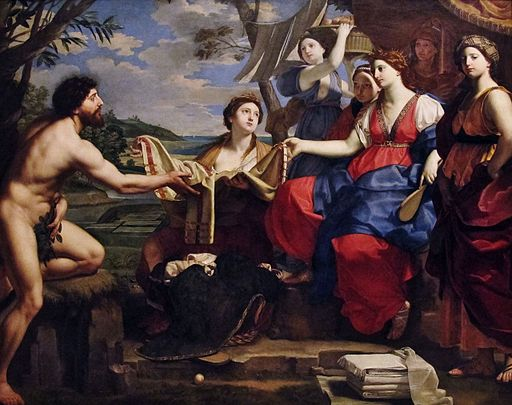 Michele Desubleo - Ulysses and Nausicaa, 1654