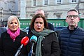 Michelle O'Neill MLA, Mary Lou McDonald TD & Senator Niall Ó Donnghaile (46865068502).jpg
