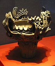 A Middle Jōmon vessel (3000-2000 BC).