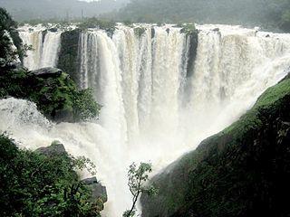 Sharavati river in India