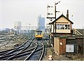 Miles Platting junction and signalbox 1989 - geograph.org.uk - 820271.jpg