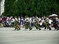 Military Police School Cadets Running on Ground 20120908.jpg