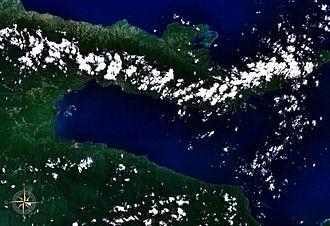 Milne Bay - Image: Milne Bay NASA