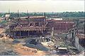 Mini Auditorium Under Construction - Convention Centre Complex - Science City - Calcutta 1994-11-03 486.JPG