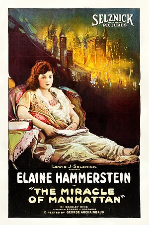 The Miracle of Manhattan - film lobby poster