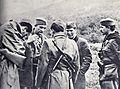 Mirko Bračič daje navodila štabom brigad pred napadom na Štampetov most.jpg