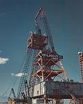 Mobile Launcher 3 under conversion for Shuttle operations (KSC-76C-0715).jpg