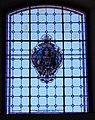 Molina di Ledro, chiesa di San Vigilio, interno - Vetrata san Vigilio.jpg