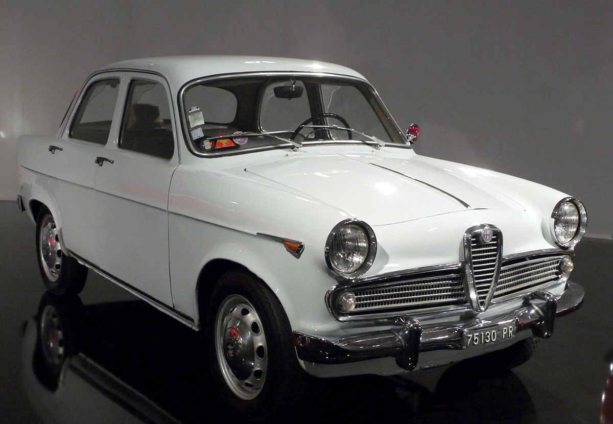 Alfa Romeo Giulia Wiki >> Alfa Romeo Giulietta (1954) - Vikipedi