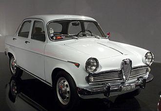 Alfa Romeo Giulietta (750/101) - Third series Giulietta T.I.