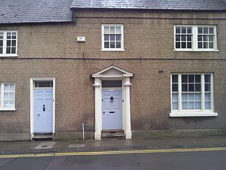 Glendower Street, Monmouth - Image: Monmouth Buildings in Glendower Strret St Johns