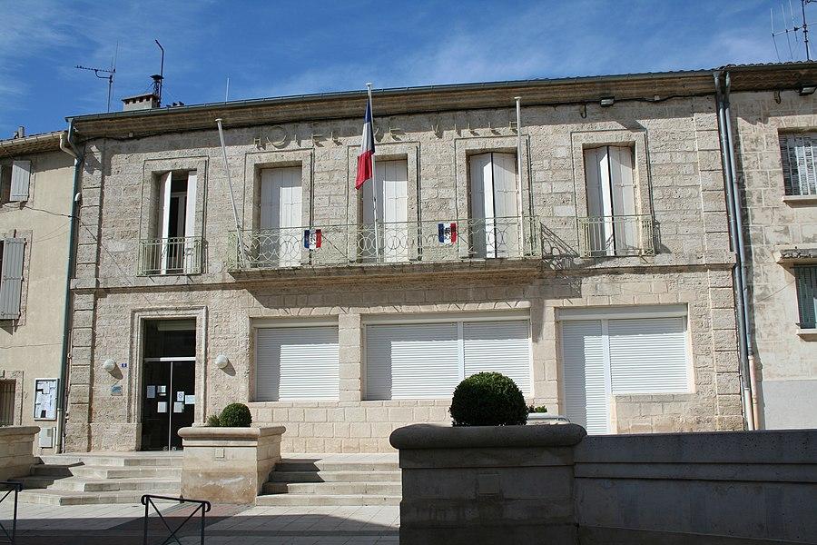 Montagnac (Hérault) - Mairie.
