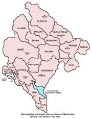 Δήμοι του Μαυροβουνίου