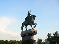 Monument of Khan Krum in Plovdiv.jpg