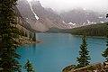 Moraine Lake in the Rain 3 (7974536693).jpg
