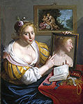 Moreelse, Paulus - Girl with a Mirror, an Allegory of Profane Love - 1627.jpg