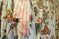 Morning gown for a man, mid 1750s, calico print from abroad, view 2 - Nordiska museet - Stockholm, Sweden - DSC09706.JPG