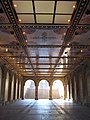 Morning view under Bethesda Terrace, Central Park, NYC.jpg
