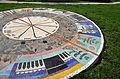 """Mosaic """"Windrose"""" by Arnulf Neuwirth 02.jpg"""