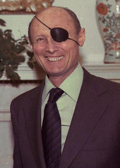 משה דיין ב-1978