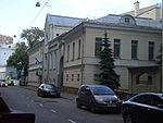 Moscou, Starokonyushenny 16, a embaixada da Cambodia.JPG
