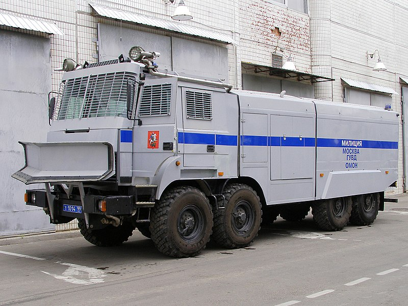 File:Moscow OMON Lavina-Uragan riot control vehicle.jpg