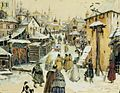 Moscow Street of 17th Century near Kremlin by A Lozhkin.jpg
