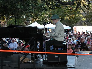 Mose Allison performing in Los Gatos, CA