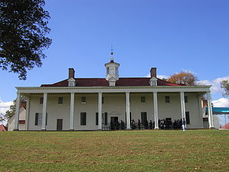 Northern Virginia - Mount Vernon, the plantation home of George Washington