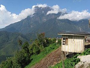 Mount Kinabalu in East Malaysia