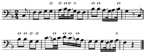 Tonality - The tonic feels more or less natural after each note of, for example, Mozart's The Magic Flute