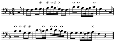 The tonic feels more or less natural after each note of, for example, Mozart's The Magic Flute